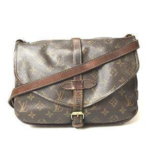 Louis Vuitton Monogram Saumur M42256 Bag***